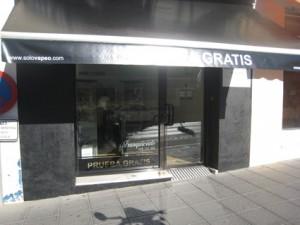 Exterior de la tienda Solo Vapeo